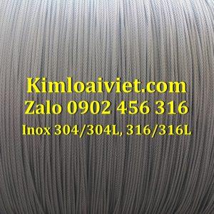 Cáp inox 316/316L