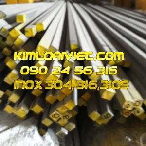 Vuông đặc Inox 316/316L